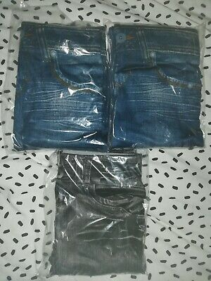 Jeggings x 3 pairs. Size M/L