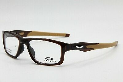 f1bde4e3310 New Oakley Ox8090-0453 Rootbeer Crosslink Authentic Eyeglasses Frame Rx  53-17
