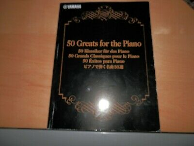 50 Greats For The Piano Yamaha Music Book