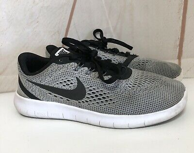 5eaad744be22a NWT GIRLS YOUTH Nike Free Rn Flyknit 2017 Running Sneakers Shoes Sz ...
