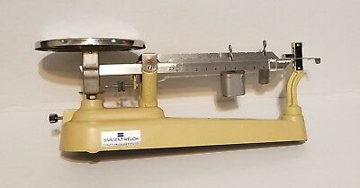 VINTAGE SARGENT-WELCH 700 Series Triple Beam Scale  (COMPLETE / WORKING)