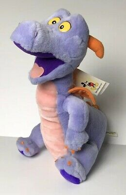 "Disney Parks Figment 15"" Epcot Dragon Purple Plush Animal Disneyland Walt Disney"