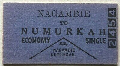VR Ticket - NAGAMBIE to NUMURKAH - Economy Single