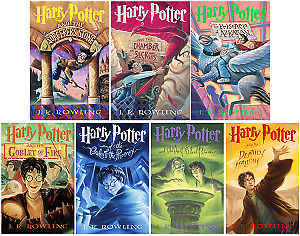 Harry Potter Complete Book Series(PDF Book)Set by J.k. Rowling--Read Description