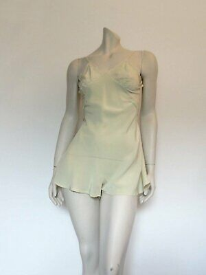 Original Vintage 1950s Teddy, Step-ins, Camiknickers, Babydoll - Pale Green
