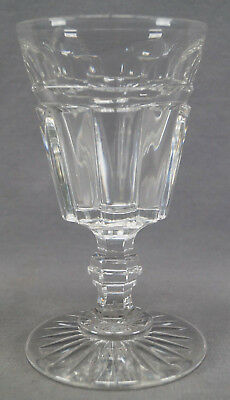 Late 19th / Early 20th Century Anglo Irish Clear Cut Crystal Large Goblet