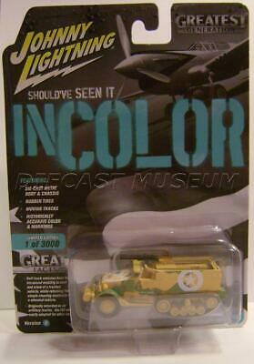 Johnny Lightning Should/'ve Seen it in Color German WWII Willys MB Jeep Version A