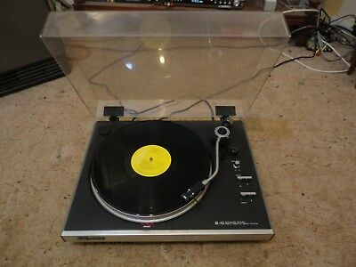 JVC QL A2 direct drive turntable.