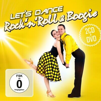 Various - Rockn Roll and Boogie-Lets Dance.2CD and DVD CD (3) zyx/ball NEW