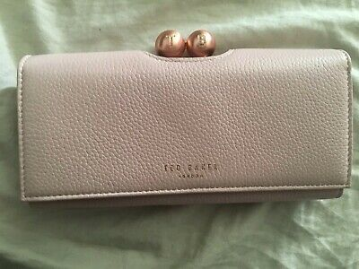 b80a40144 TED BAKER SCRIPTED leather bobble matinee purse-BNWT-New Season ...