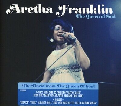 Aretha Franklin - The Queen Of Soul CD4 Rhino NEW