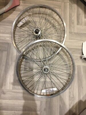 GT Old Mid School BMX Spoke Rim Wheels Weinmann Rims Performer Vertigo 10mm