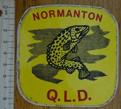 1 x RETRO NORMANTON QLD COLLECTABLE STICKER