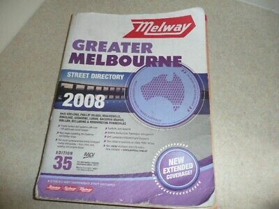 MELWAY 2008 Edition, Greater Melbourne Street Directory