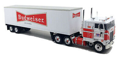 ICONIC REPLICAS 1:43 1979 Peterbilt 352 COE w/ Trailer: Budweiser Beer