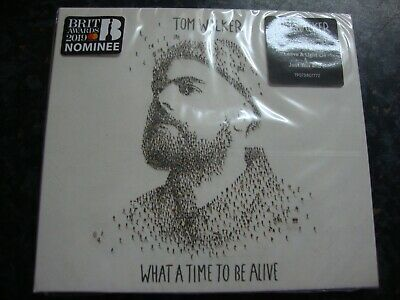 Tom Walker What A Time To Be Alive Cd Album  **brand New And Sealed **