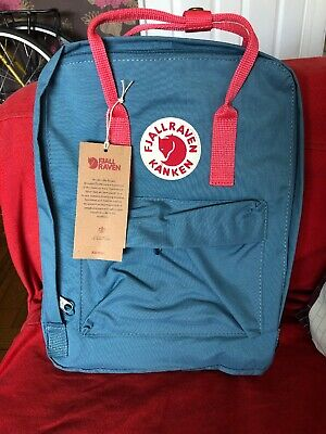 Fjallraven Kanken Classic 16l Frost Green With Peach Pink New