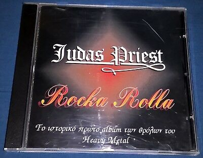Judas Priest - Rocka Rolla RARE edition CD for collectors Heavy Metal