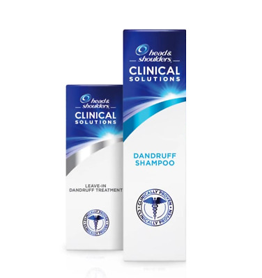 Head & Shoulders Clinical Solutions Shampoo and Leave-on Conditioner 2 pcs