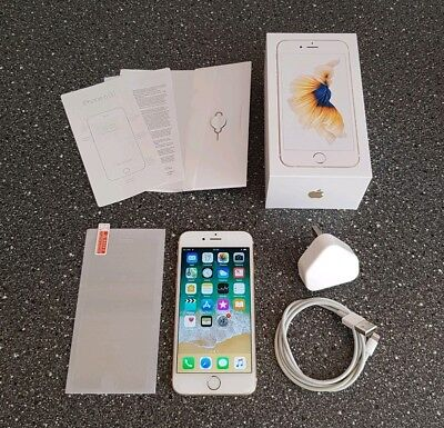 Apple iPhone 6s - 64GB - Gold (Unlocked) A1688 *MINT CONDITION*