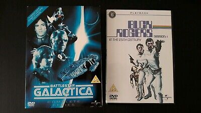 Buck Rogers and Battlestar Galactica The Complete Series DVD lot