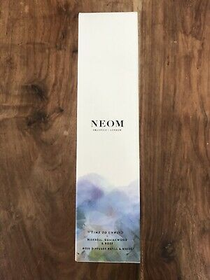NEOM Organics Reed Diffuser Refill: Time To Unwind 100ml Brand New