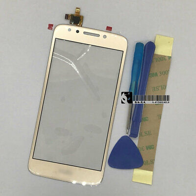 FOR MOTOROLA MOTO E4 XT1765 XT1766 Gold Touch Screen Digitizer Glass & Tools
