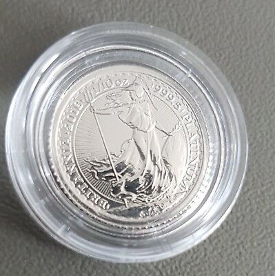 1/10oz ounce BRITANNIA 9995 2018 FINE PLATINUM BULLION COIN IN CAPSULE (NOT GOLD