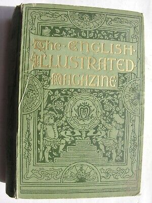 ENGLISH ILLUSTRATED MAGAZINE 1888-89 Oscar Wilde Abingdon Leeds Louis Wain Dordt