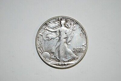 1942-P Liberty Walking Half-Dollar-VF