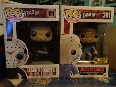 Funko POP Jason Voorhees x2 / Horror / Movies / Friday the 13th