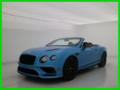 2018 Bentley Continental GT GTC Supersports 2018 18 BENTLEY CONTINENTAL GTC SUPERSPORTS CONVERTIBLE * BRAND NEW LEFTOVER
