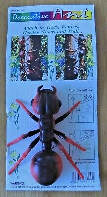 Job Lot 10 x Garden Ornaments Decorative Giant Red Ants Brand New