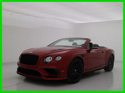 2018 Bentley Continental GT GT Supersports 2018 18 BENTLEY CONTINENTAL GTC SUPERSPORTS CONVERTIBLE * BRAND NEW LEFTOVER *