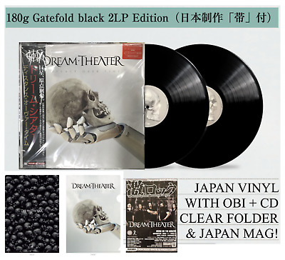 Japan Clear File + 2Lp Vinyl With Obi+Cd + Mag! Dream Theater Distance Over Time