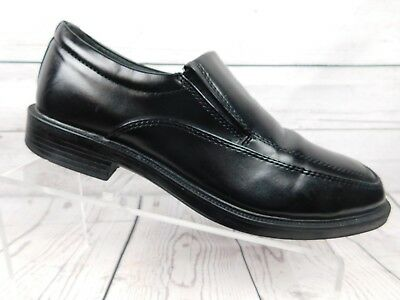 Details about Skechers Mens Size 8 Black Leather Uppers Slip On Loafers Dress Shoes. Very Nice