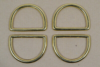"Dee Ring - 2"" - Solid Brass - Pack of 12 (F476)"