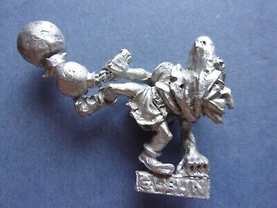 Citadel Games Workshop Warhammer Goblin Fanatic 1980s Metal Figure