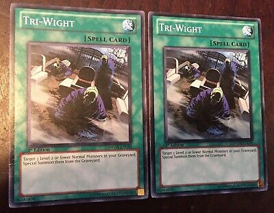 Common 1st Edition Yu-Gi-Oh PHSW-EN059 Tri-Wight