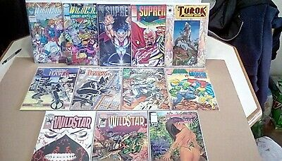 Image Comic Book Lot (12 different) Savage Dragon, Supreme, Wildcats, & more