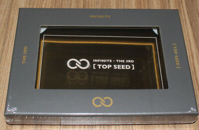 Infinite 3Rd Album Top Seed Cd + 3D Card + Photocard + Folded Poster Sealed