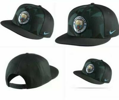 cee1e59c185 NIKE MANCHESTER CITY Hat Core Snapback Green One Size Fits All New ...