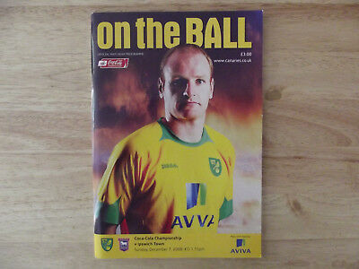 Norwich City v Ipswich Town Championship 07/12/08