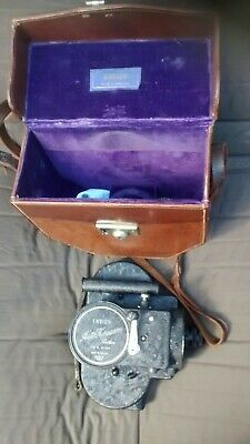 Superb condition Cased Ensign Auto Kinecam Sixteen Type B Vintage Cine Camera