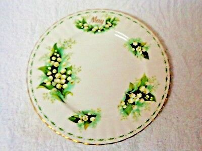 Royal Albert Flower of the Month May Plate 1970