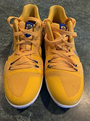 c4ca0a1fe579 Nike Kyrie 3 Mac   Cheese University Gold GS Grade School Size 7Y  BARELY  WORN