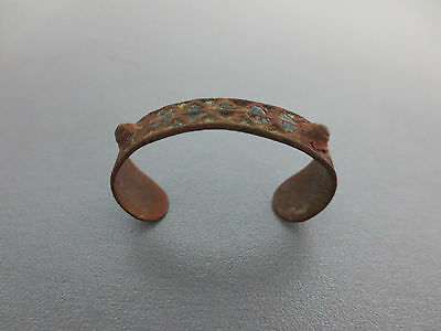 ANTIQUE ENAMEL 17th CENTURY OTTOMAN EMPIRE BABY BRACELET - EXTREMELY  RARE