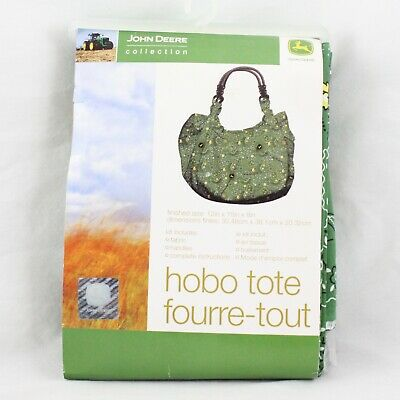 John Deere Collection Hobo Tote Bag Green BRAND NEW