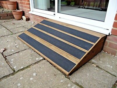 17cm High Outside Pet Ramp,. 100cm Door Width