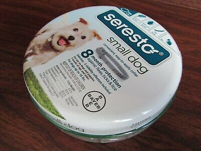 Bayer Seresto Flea and Tick Collar for Small Dog Up to 18lbs, 8 Month Fast Ship